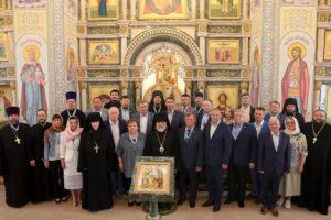 Клирики Шадринской епархии приняли участие в выездном заседании Курганского регионального отделения Императорского Православного Палестинского общества