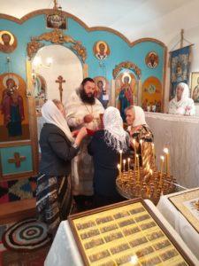 В храме в честь Вознесения Господня с. Красномыльского отметили престольный праздник