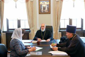 Совещание по открытию Духовно-просветительского центра провел епископ Владимир