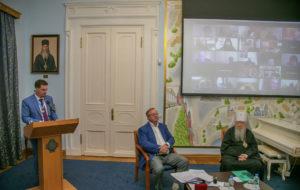 Секретарь Шадринской епархии принял участие в заседании Совета ИППО в онлайн-режиме