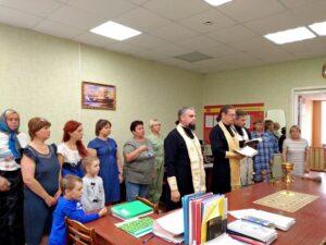 Духовенство Шадринской епархии освятило здание Шадринскогофилиала ГБПОУ «Курганский базовыймедицинскийколледж»