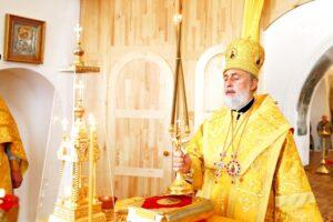 Божественная литургия г. Шадринск. 24.07.2021 г.