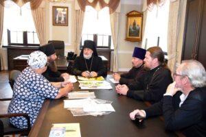Епископ Шадринский и Далматовский Владимир возглавил первое заседание Искусствоведческой комиссии Шадринской епархии