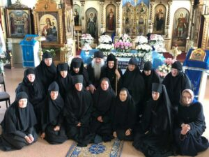 Свой 21-й день рождения отмечает женская обитель в честь Похвалы Божией Матери с. Боровское