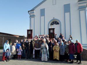 Престольный праздник отметили в храме в честь Покрова Пресвятой Богородицы р.п. Каргаполье