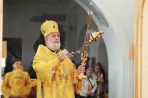 Божественная литургия г. Шадринск. 10.10.2021 г.