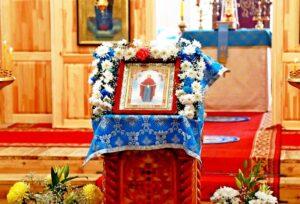 Божественная литургия в праздник Покрова Пресвятой Владычицы нашей Богородицы и Приснодевы Марии г. Шадринск. 14.10.2021 г.